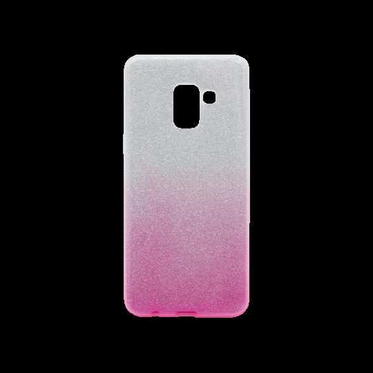 Samsung Galaxy A8 (2018) - Gumiran ovitek (TPUB) - roza
