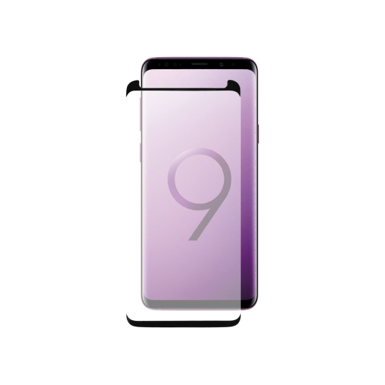 Samsung Galaxy S9 - Zaščitno steklo Premium (0,33) - case-friendly, črno