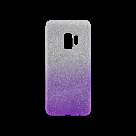 Samsung Galaxy S9 - Gumiran ovitek (TPUB) - vijolična