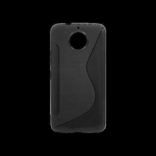 Motorola Moto G5s Plus - Gumiran ovitek (TPU) - črn CS-Type