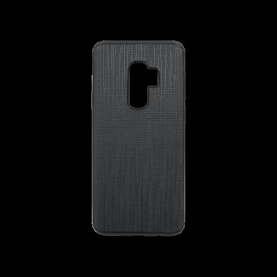 Samsung Galaxy S9+ - Okrasni pokrovček (70LS) - črn
