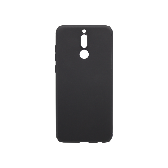 Huawei Mate10 Lite - Gumiran ovitek (TPU) - črn MATT