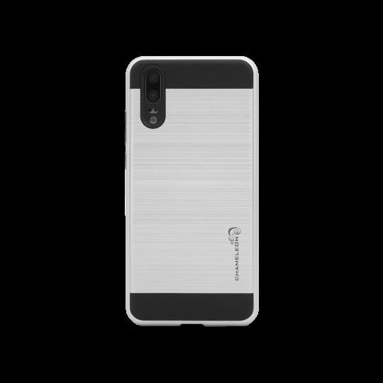 Huawei P20 - Gumiran ovitek (ARM-01) - srebrn