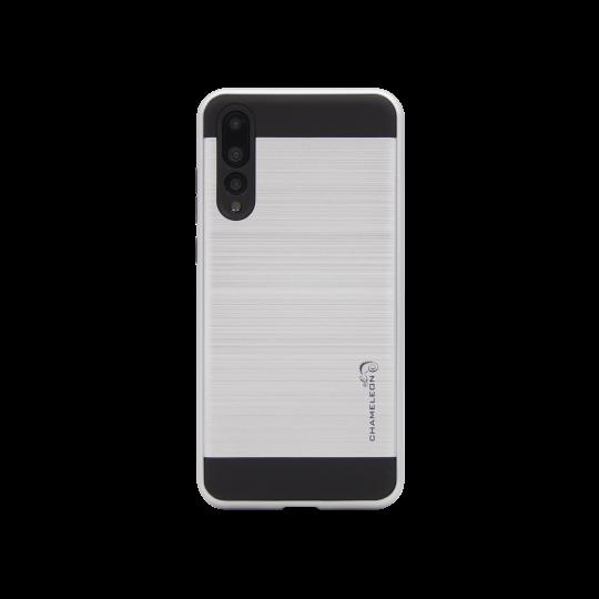 Huawei P20 Pro - Gumiran ovitek (ARM-01) - srebrn