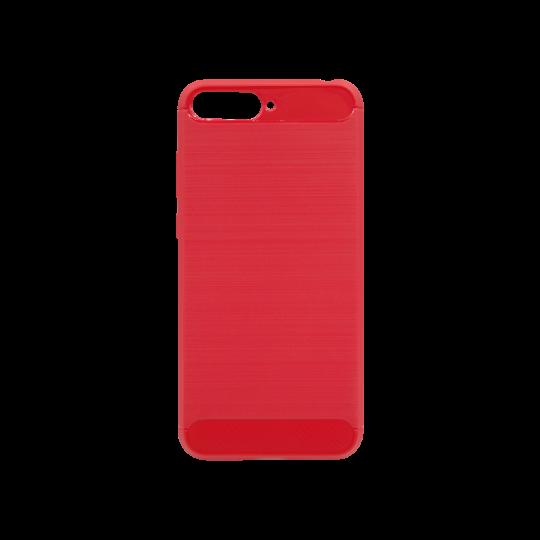 Huawei Y6 (2018) - Gumiran ovitek (TPU) - rdeč A-Type
