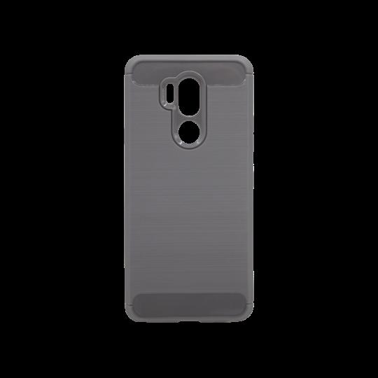 LG G7 ThinQ - Gumiran ovitek (TPU) - siv A-Type