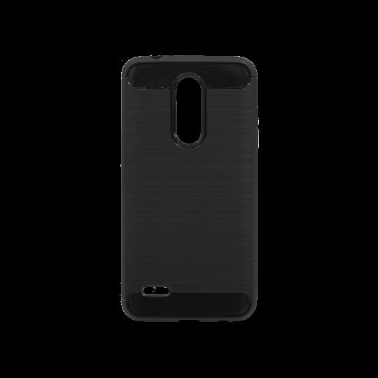 LG K10 (2018) / K11 - Gumiran ovitek (TPU) - črn A-Type