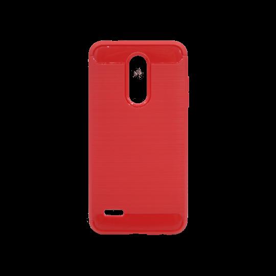 LG K10 (2018) / K11 - Gumiran ovitek (TPU) - rdeč A-Type