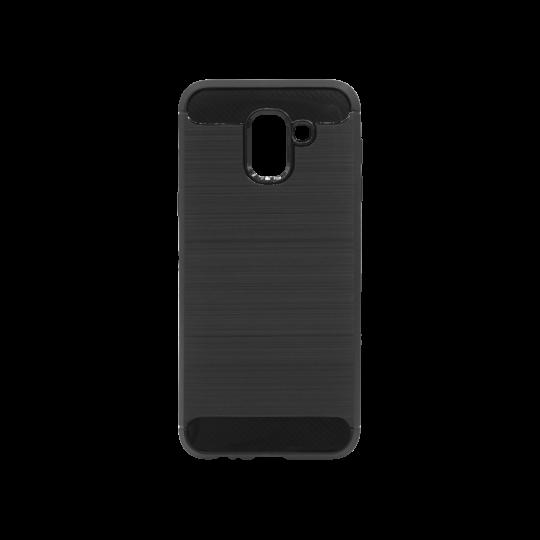 Samsung Galaxy J6 - Gumiran ovitek (TPU) - črn A-Type