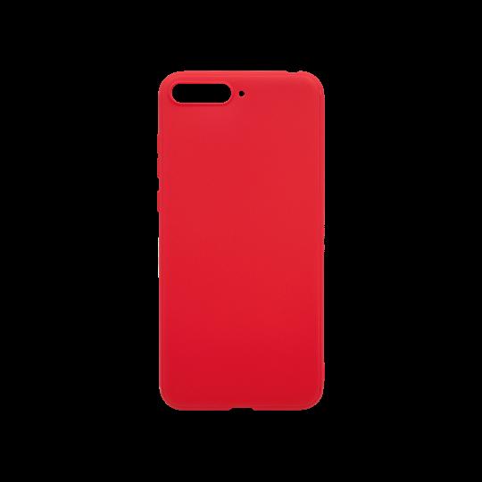 Huawei Y6 (2018) - Gumiran ovitek (TPU) - rdeč MATT