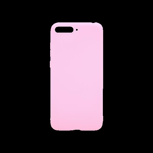 Huawei Y6 (2018) - Gumiran ovitek (TPU) - svetlo roza MATT