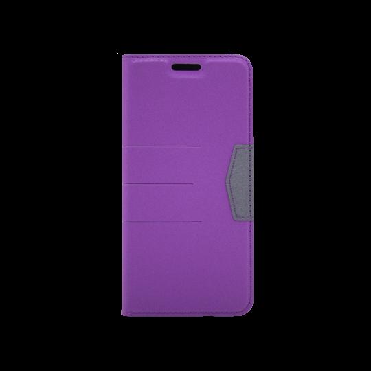 Samsung Galaxy J6 (2018) - Preklopna torbica (47G) - vijolična