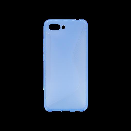 Huawei Honor 10 - Gumiran ovitek (TPU) - modro-prosojen CS-Type