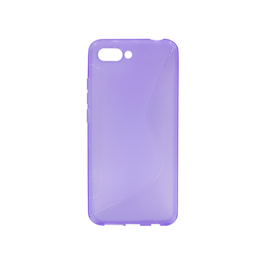 Huawei Honor 10 - Gumiran ovitek (TPU) - vijolično-prosojen CS-Type