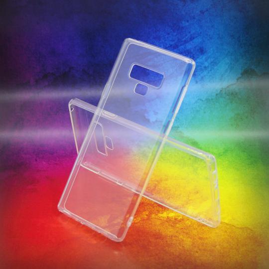 Samsung Galaxy Note 9 - Gumiran ovitek (TPUA) - prosojen