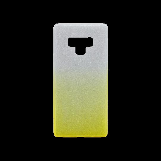 Samsung Galaxy Note 9 - Gumiran ovitek (TPUB) - rumena