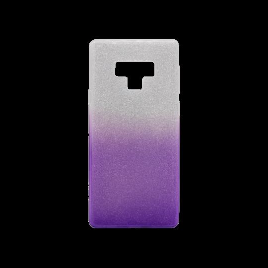 Samsung Galaxy Note 9 - Gumiran ovitek (TPUB) - vijolična