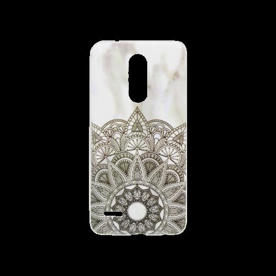 LG K10 (2018) / K11 - Gumiran ovitek (TPUP) - Marble 3