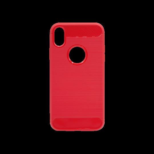Apple iPhone XR - Gumiran ovitek (TPU) - rdeč A-Type