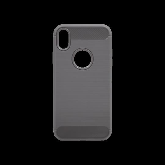Apple iPhone XR - Gumiran ovitek (TPU) - siv A-Type