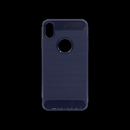 Apple iPhone XS Max - Gumiran ovitek (TPU) - moder A-Type