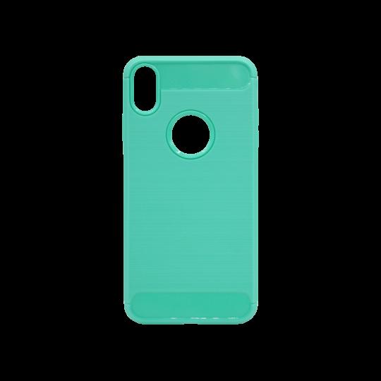 Apple iPhone XS Max - Gumiran ovitek (TPU) - zelen A-Type