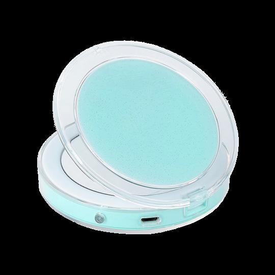 Žepno LED ogledalo za ličenje - turkizno