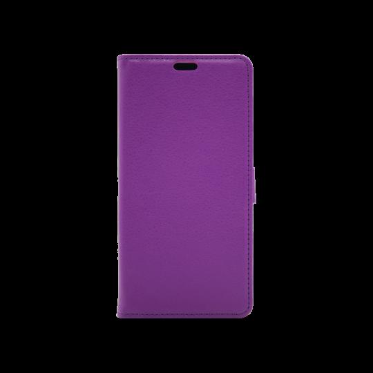 LG Q Stylus - Preklopna torbica (WLG) - vijolična