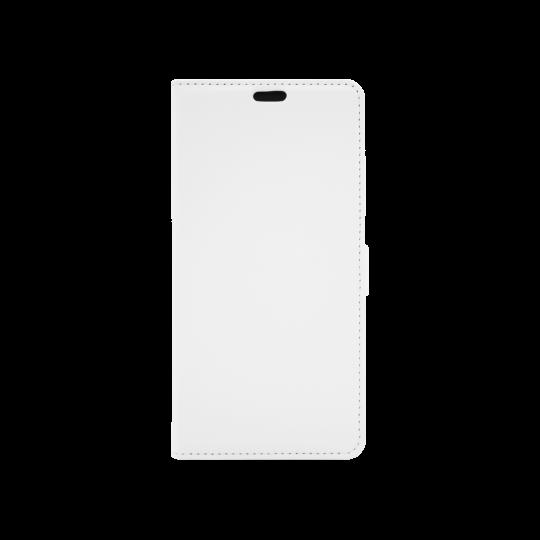 Sony Xperia XZ3 - Preklopna torbica (WLG) - bela
