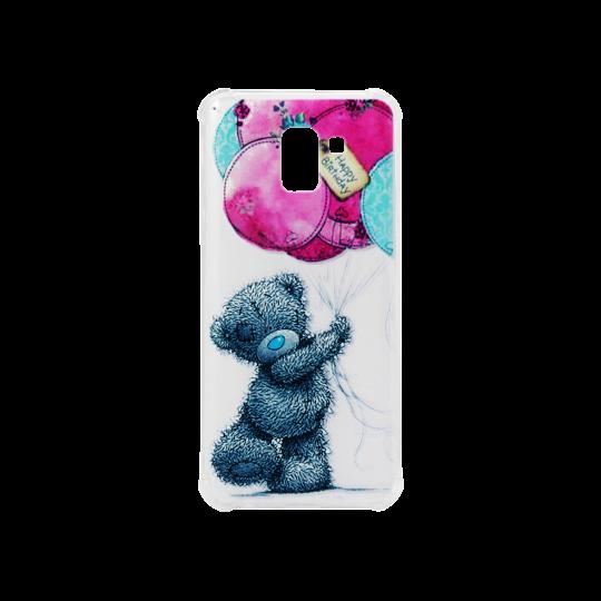 Samsung Galaxy J6 (2018) - Gumiran ovitek (TPUP) - Bear