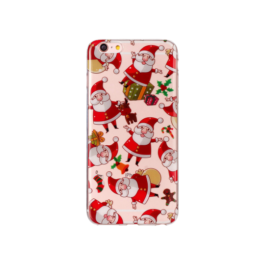 Apple iPhone 6/6s - Gumiran ovitek (TPUP) - Santa