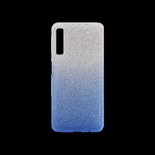 Samsung Galaxy A7 (2018) - Gumiran ovitek (TPUB) - modra