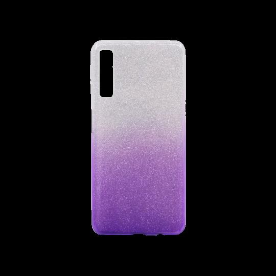 Samsung Galaxy A7 (2018) - Gumiran ovitek (TPUB) - vijolična