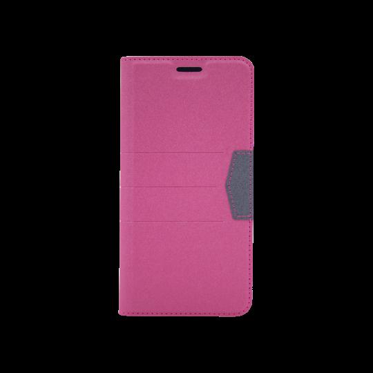 Samsung Galaxy J6+ (2018) - Preklopna torbica (47G) - roza