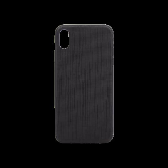 Apple iPhone XS Max - Okrasni pokrovček (70LS) - črn