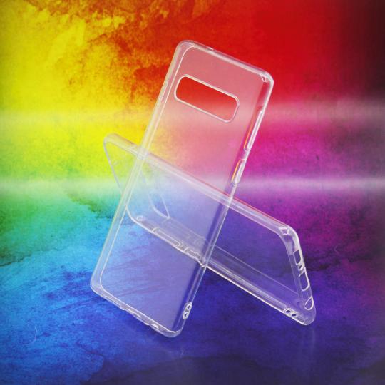 Samsung Galaxy S10 - Gumiran ovitek (TPUA) - prosojen