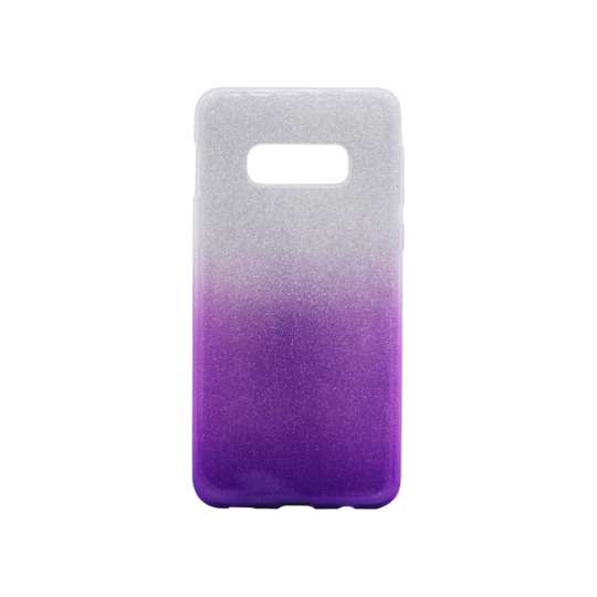 Samsung Galaxy S10e - Gumiran ovitek (TPUB) - vijolična