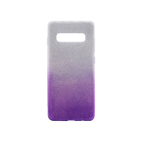 Samsung Galaxy S10+ - Gumiran ovitek (TPUB) - vijolična