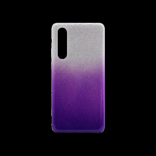 Huawei P30 - Gumiran ovitek (TPUB) - vijolična