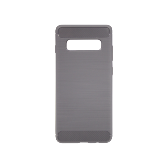 Samsung Galaxy S10+ - Gumiran ovitek (TPU) - siv A-Type