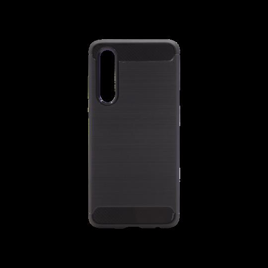 Huawei P30 - Gumiran ovitek (TPU) - črn A-Type