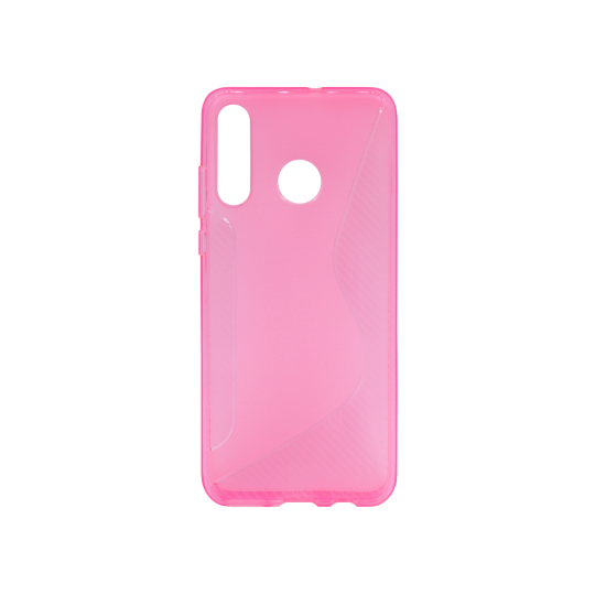 Huawei P30 Lite - Gumiran ovitek (TPU) - roza-prosojen CS-Type