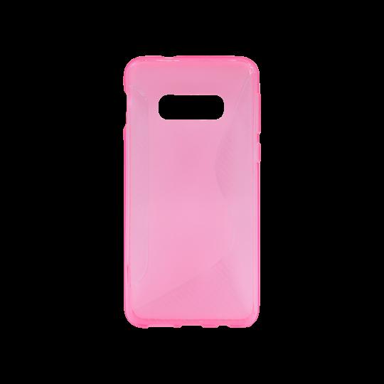 Samsung Galaxy S10e - Gumiran ovitek (TPU) - roza-prosojen CS-Type