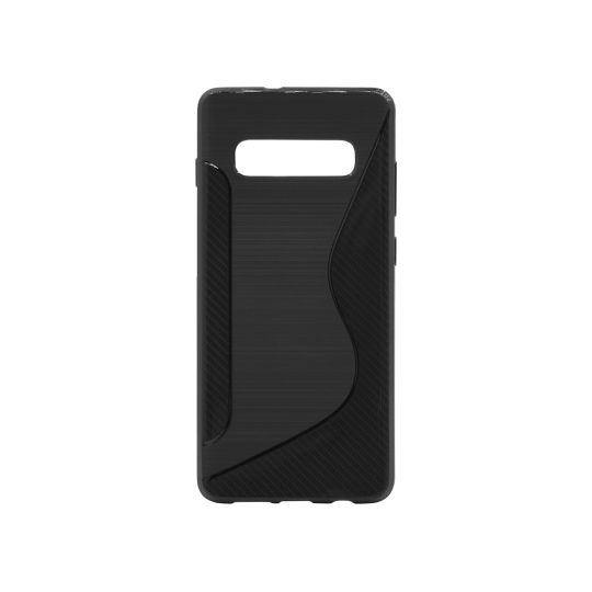 Samsung Galaxy S10+ - Gumiran ovitek (TPU) - črn CS-Type