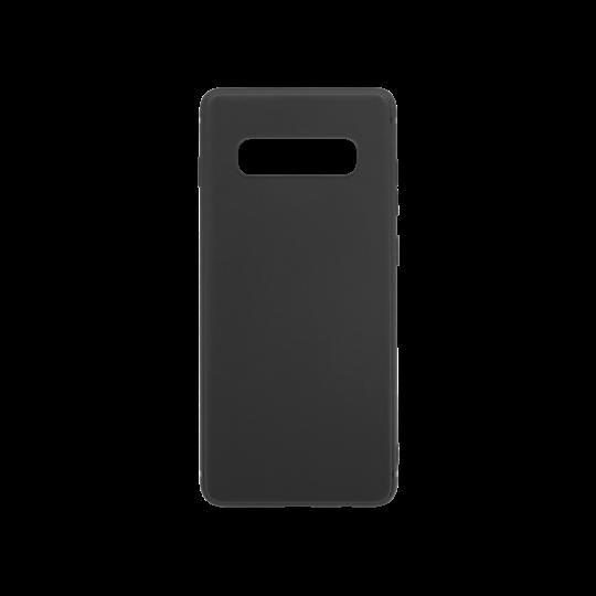Samsung Galaxy S10+ - Gumiran ovitek (TPU) - črn MATT
