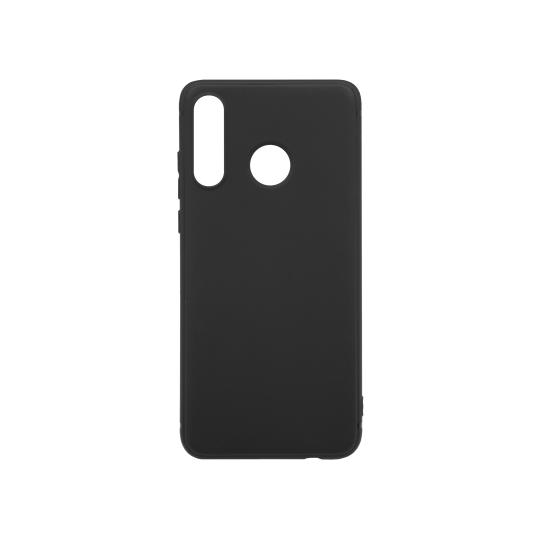 Huawei P30 Lite - Gumiran ovitek (TPU) - črn MATT