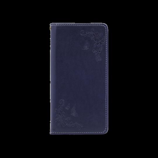 Samsung Galaxy S10 - Preklopna torbica (WLGO-Butterfly) - modra