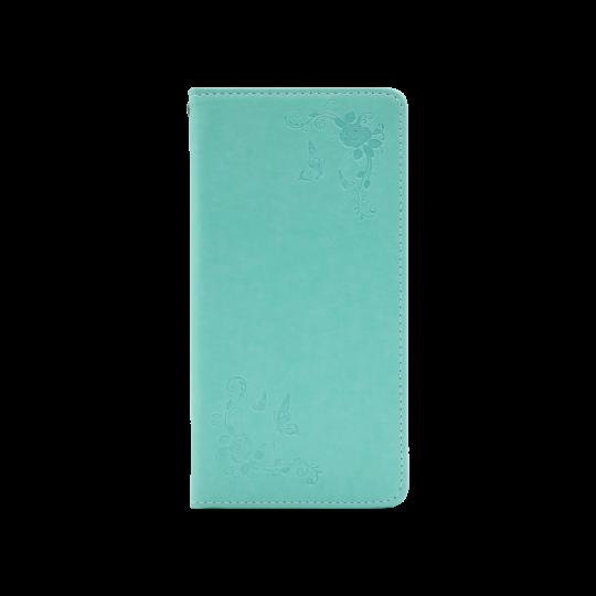Samsung Galaxy S10 - Preklopna torbica (WLGO-Butterfly) - zelena