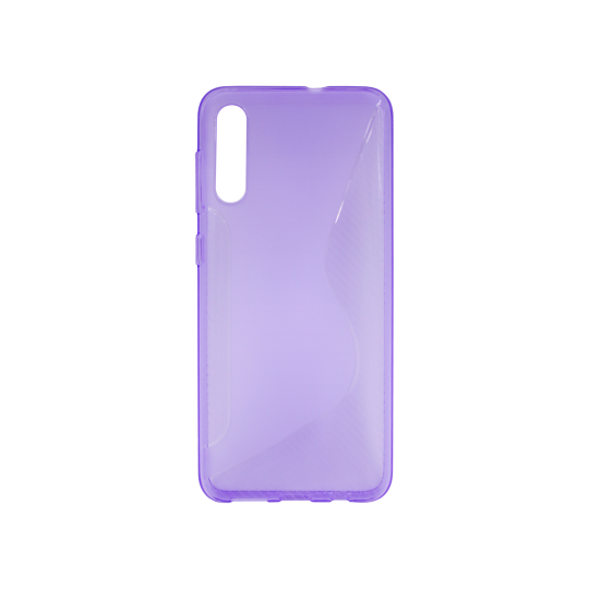 Samsung Galaxy A50/A30s/A50s - Gumiran ovitek (TPU) - vijolično-prosojen CS-Type