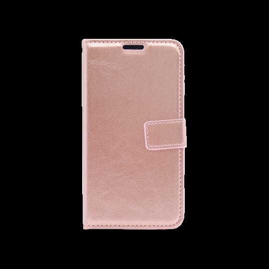 Samsung Galaxy A20 / A30 - Preklopna torbica (WLC) - roza-zlata